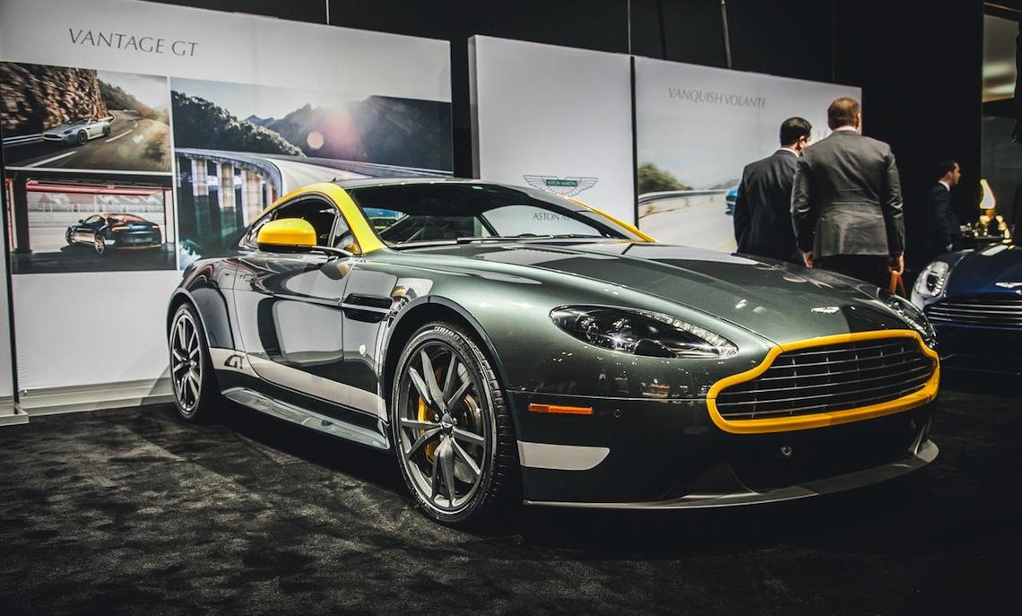 Aston Martin Summit | Short Hills & the New York International Auto Show