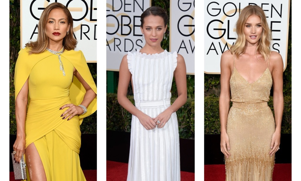Golden Globes Fashion Recap