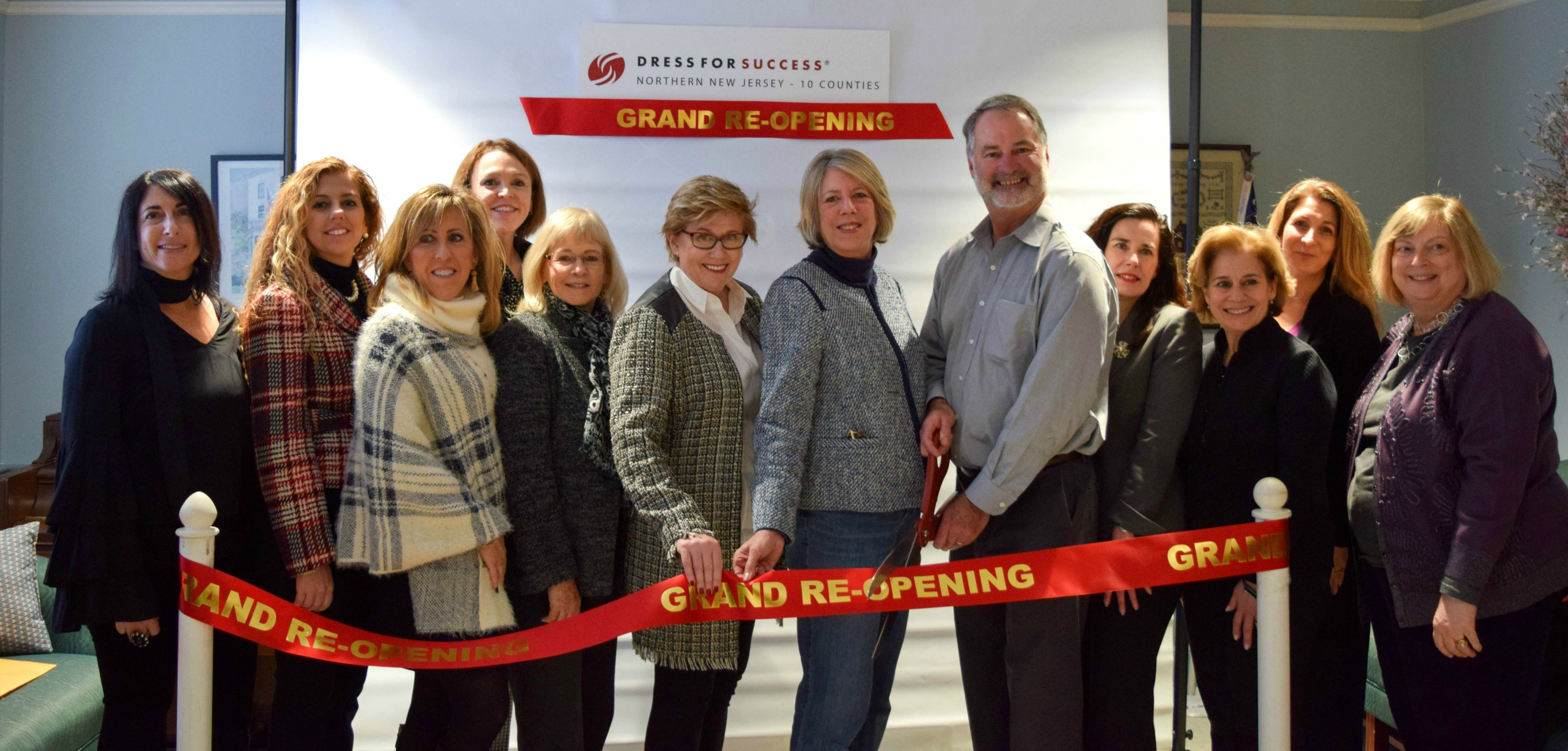 "Freeholders Honor ""Dress For Success"" At New Madison Headquarters"