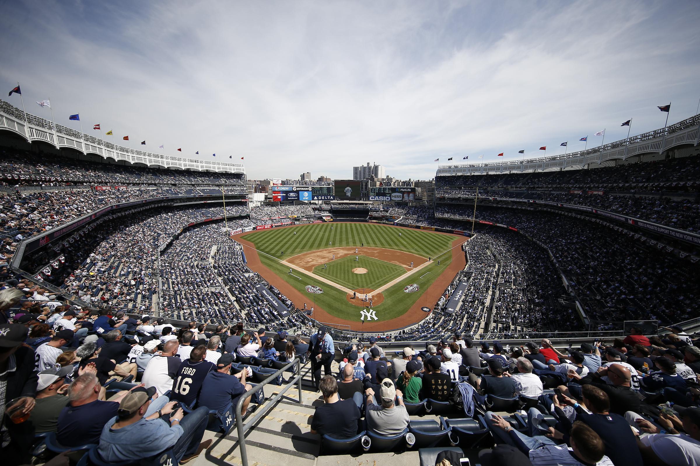 New York Yankees Home Opener to Unveil Stadium's New Dining Menu