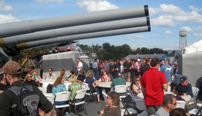 BATTLESHIP NEW JERSEY BEER FESTIVAL
