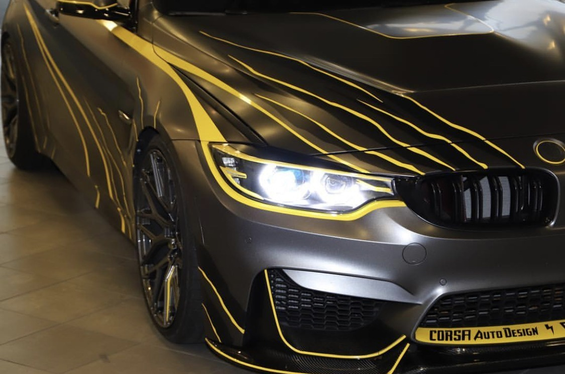 """Reveal of """"Lightning M4"""" at BMW of Springfield with Mariano Rivera and Tom Maoli"""