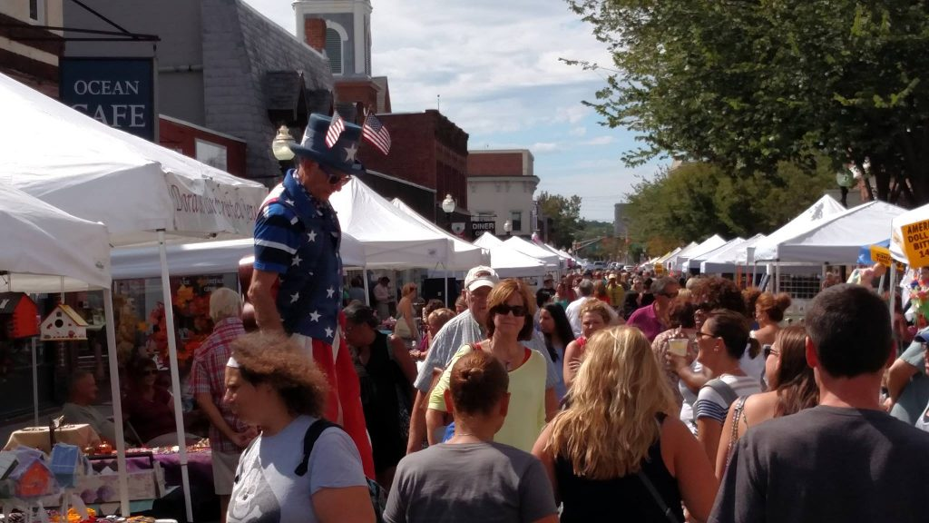 Red Bank Street Fair - Fall @ The Downtown