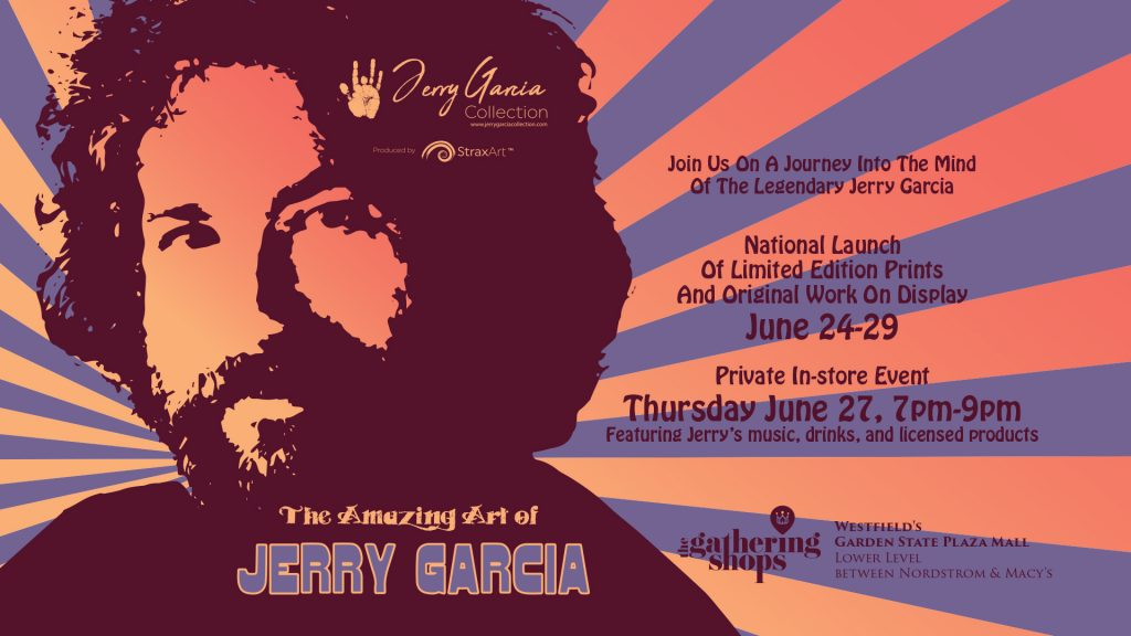 Jerry Garcia Art Gallery Launch @ The Gathering Shops