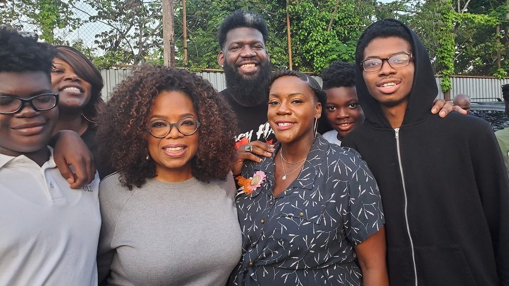 Oprah Surprises Newark High School