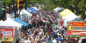 Cranford Street Fair and Craft Show: August @ Downtown Cranford