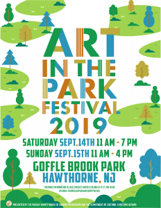 Art in the Park Festival @ Goffle Brook Park
