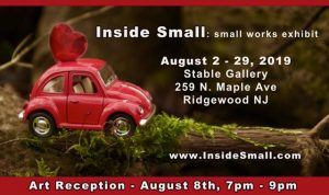 Inside Small: Small Works Exhibit @ The Stable Gallery