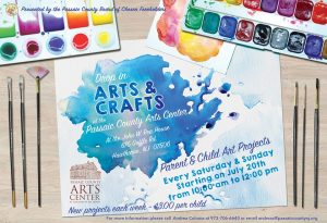 Drop-In Arts & Crafts at the Passaic County Arts Center (Every Saturday) @ Passaic County Arts Center - John W. Rea House