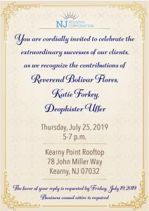 New Jersey Reentry Corporation Celebration @ Kearny Point Rooftop