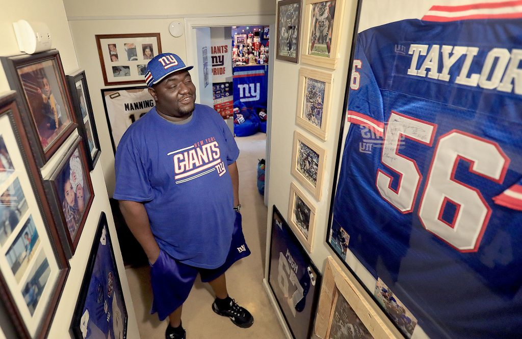Giants Fan, Gregory Hampton, Wins 100 Years of Season Tickets