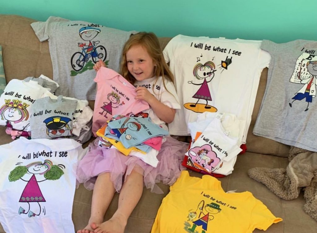 5 Year Old Helps Launch Product Line For #FashionFriday