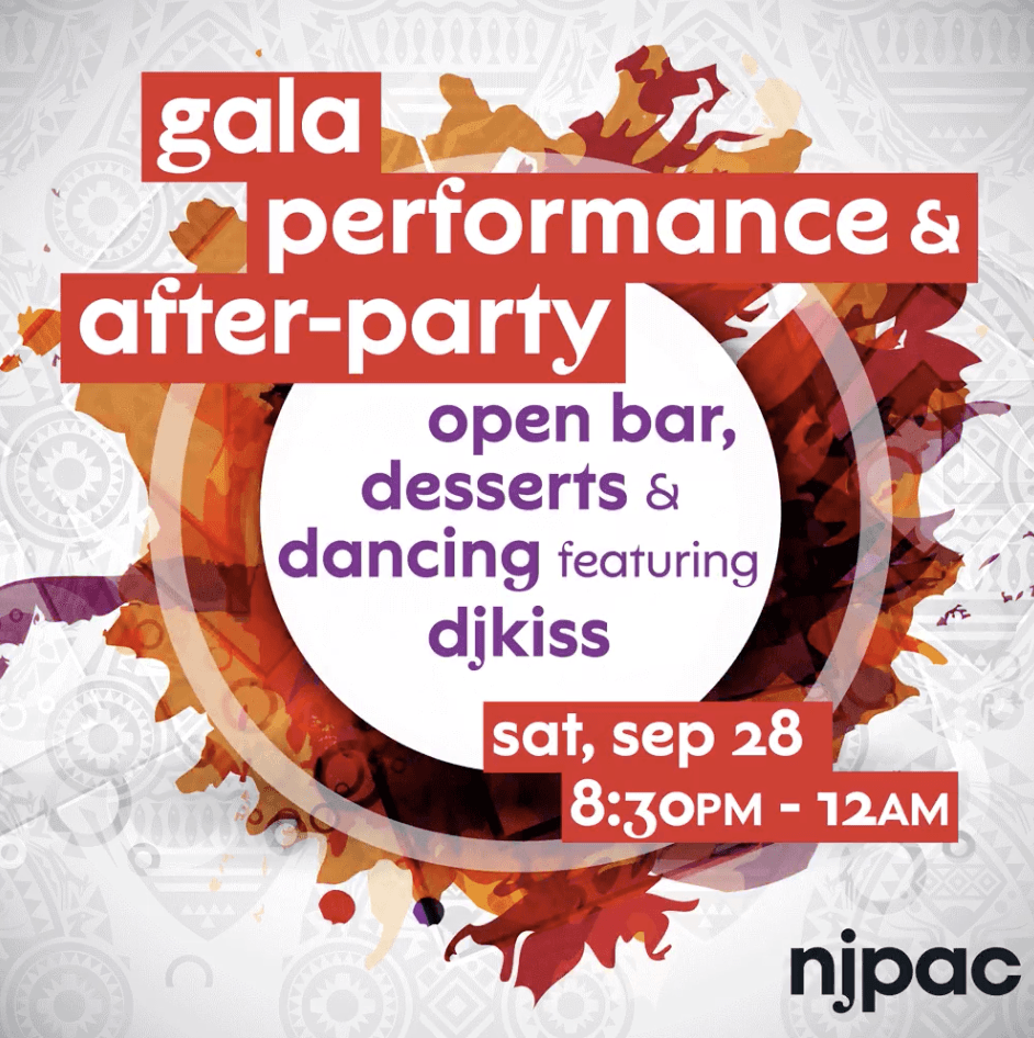 NJPAC Women's Association Gala Performance and After-Party @ New Jersey Performing Arts Center