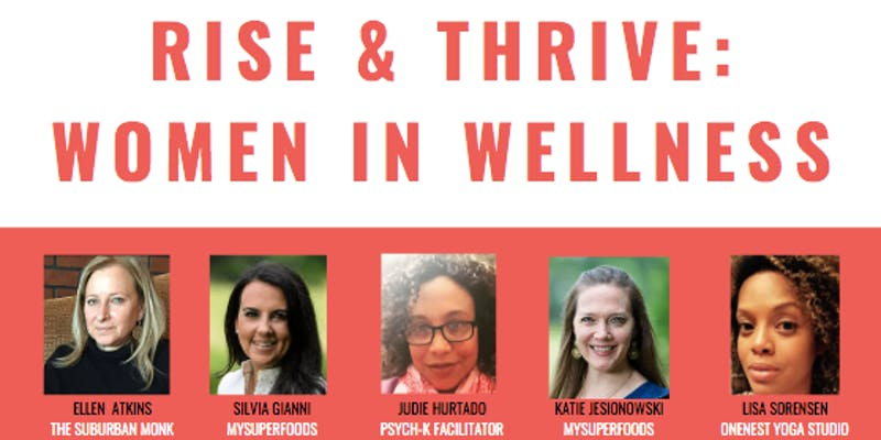 RISE & THRIVE: Women in Wellness Panel + Co-Working Pop-Up @ The Co-Co