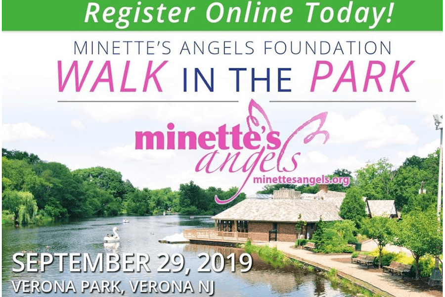 Minette's Angels Foundation Inaugural Walk in the Park @ Verona Park