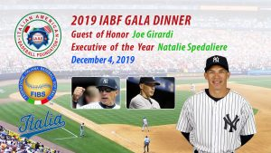 The 2019 Italian American Baseball Foundation Gala Dinner @ Giando on the Water