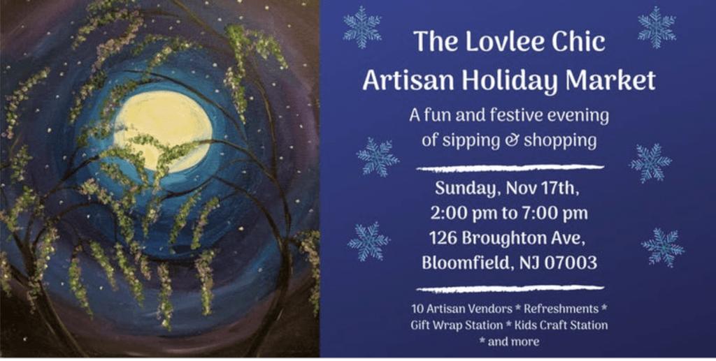 The Lovely Chic Artisan Holiday Market @ Lovlee Art Studio
