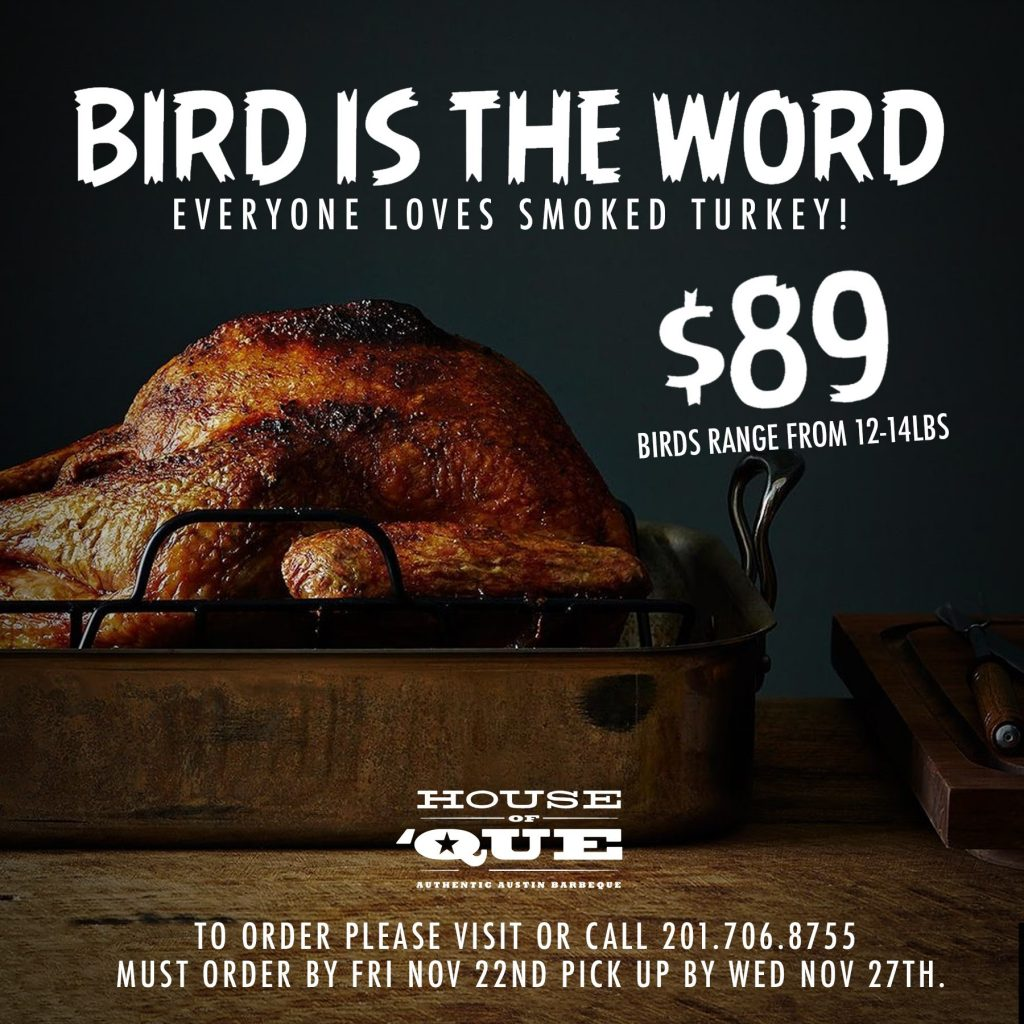 Bird is the Word @ House of Que