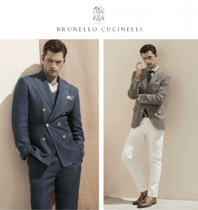 Ennobled Leisure, Experience the Brunello Cucinelli Spring 2020 Menswear Collection @ Garmany