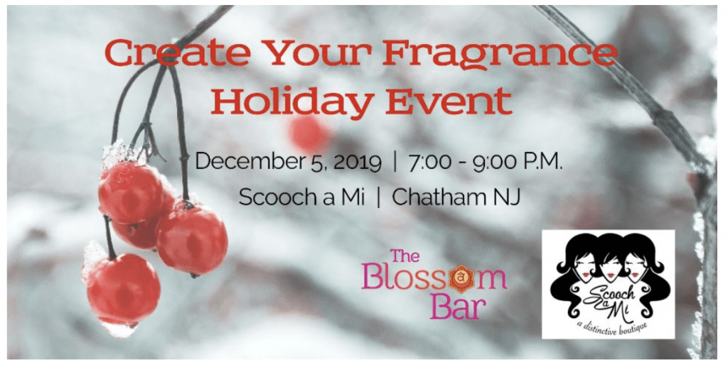 Create Your Fragrance Holiday Event @ Scooch A Mi