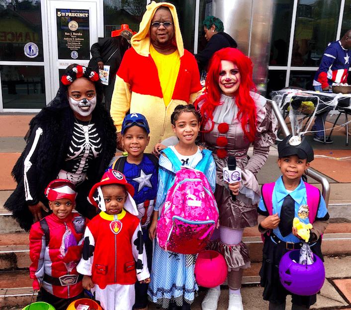 Newark's 5th Precinct's Halloween