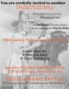 THRISTgiving @ Jockey Hollow Bar and Kitchen