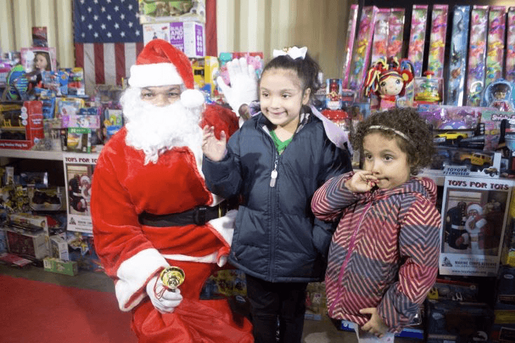 Newark Police and Fire Department Holiday Toy-Distribution
