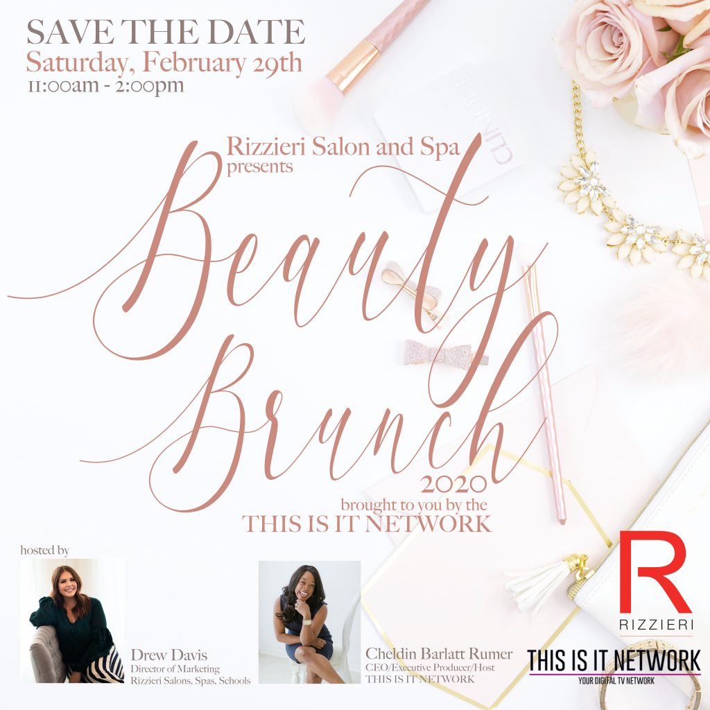 Beauty Brunch 2020 @ Rizzieri Salon and Spa