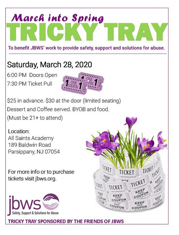 Tricky Tray to Benefit JBWS @ All Saints Academy
