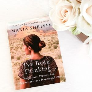 Book Chat - Maria Shriver's I'VE BEEN THINKING @ Online