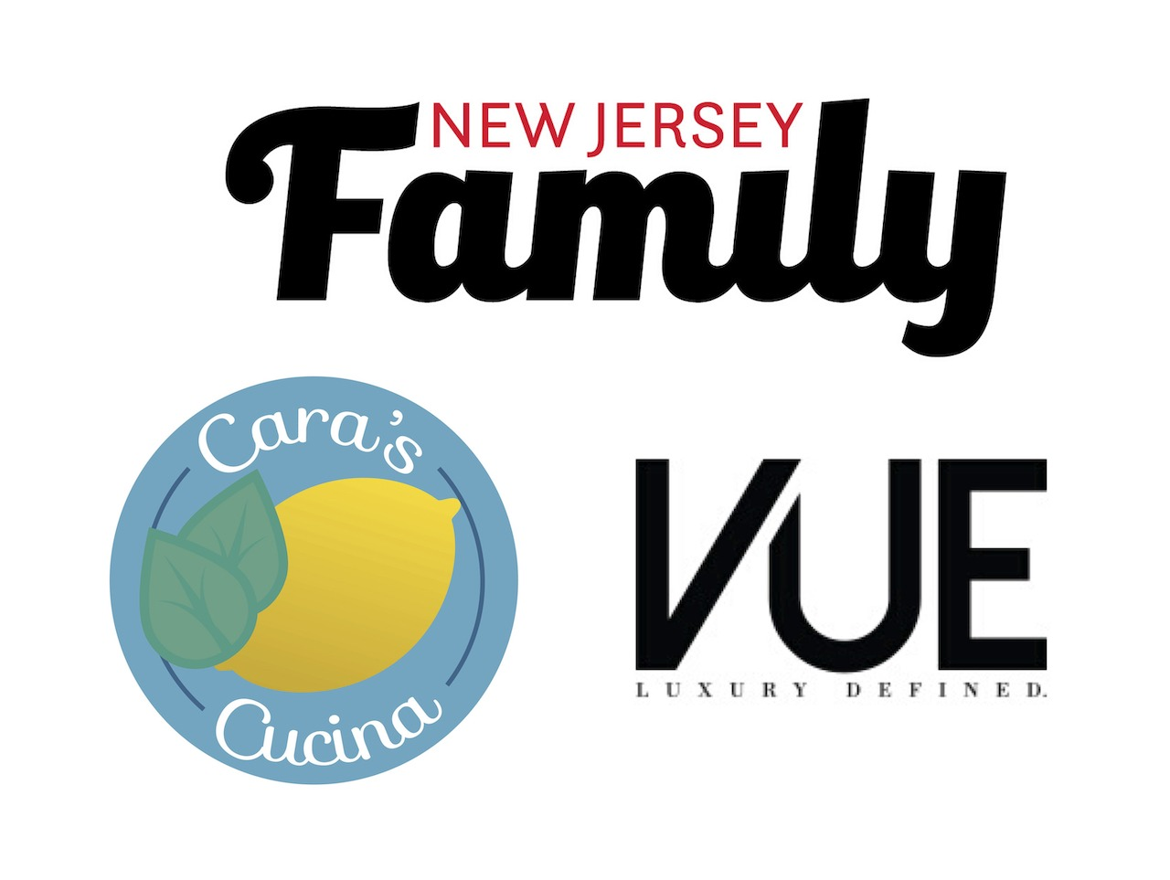 cara's cucina, cara difalco, vue magazine, New Jersey family, media partners