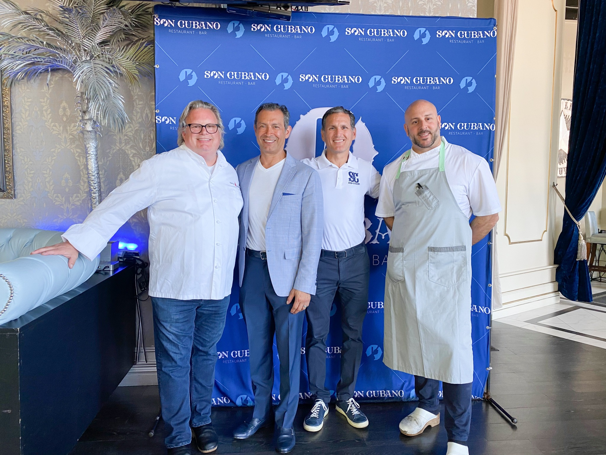 Chef David Burke New Culinary Director at Son Cubano