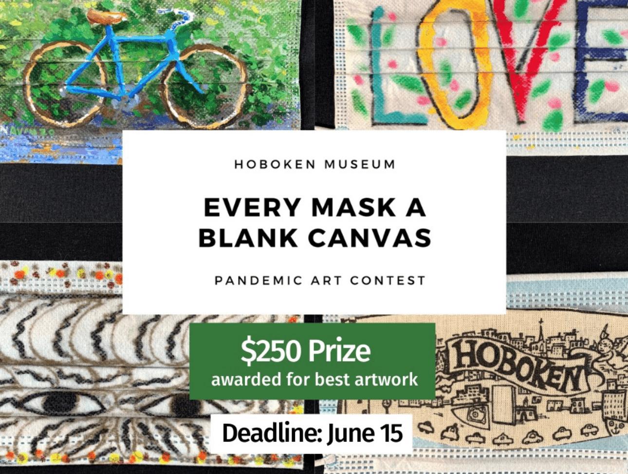 Hoboken Historical Museum Hosts Mask Art Contest